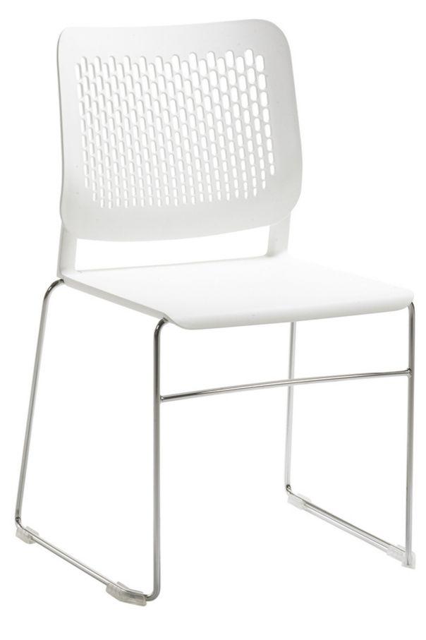 Wartezimmerstuhl Hartplastiksitz desinfizierbar