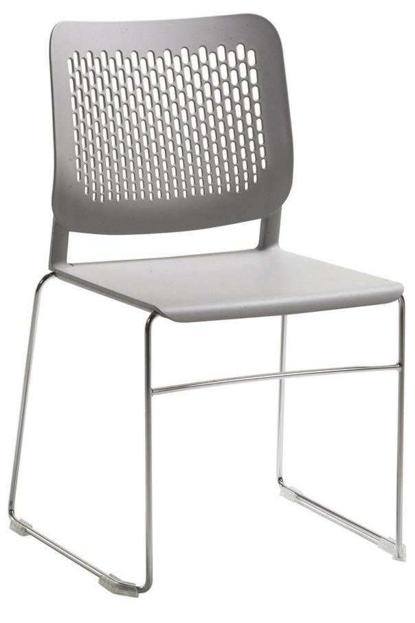günstiger Veranstaltungsstuhl Hartplastiksitz robus