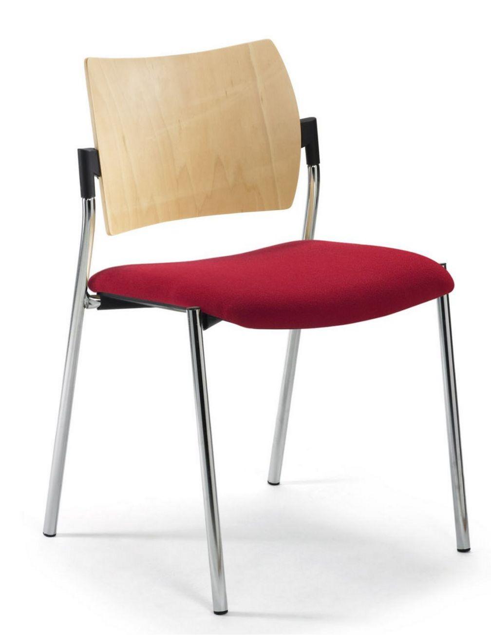 robuster Veranstaltungsstuhl stapelbar und objekttauglich