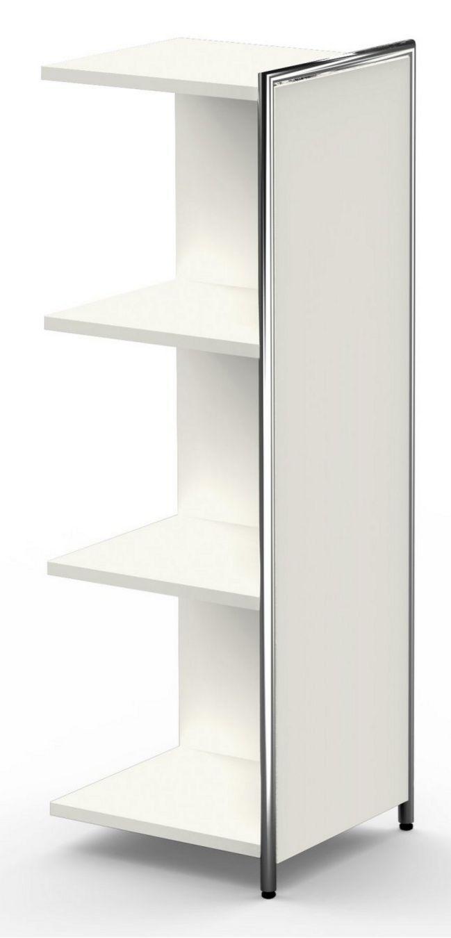 erweiterbares Büro-Highboard offen