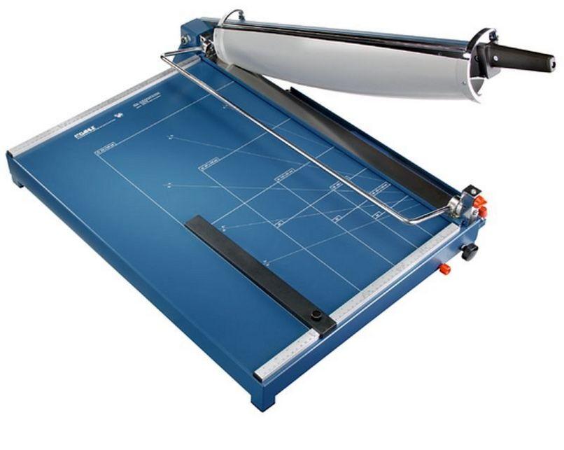 DIN A2-Papierschneidemaschine Messer abschließbar