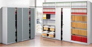 Büror-Metall-Stckregal für Hängemappen und Aktenordner