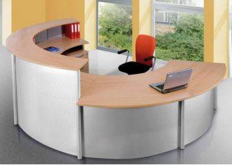 robuste und preiswerte Büro-Empfangstheke