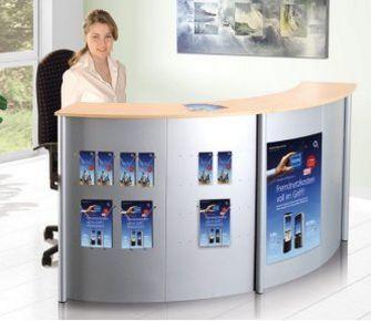 preiswerte und erweiterbare Büro-Empfangstheke