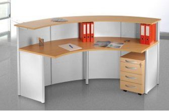 moderne Büro-Empfangstheke