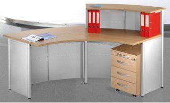 stabile und preiswerte Büro-Empfangstheke