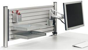 stabile Tischbefestigung Monitor-Schwenkarm
