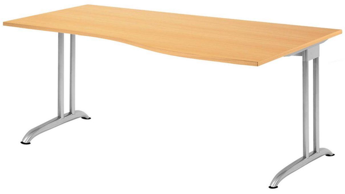 Schreibtisch große Arbeitsfläche 180x100 cm
