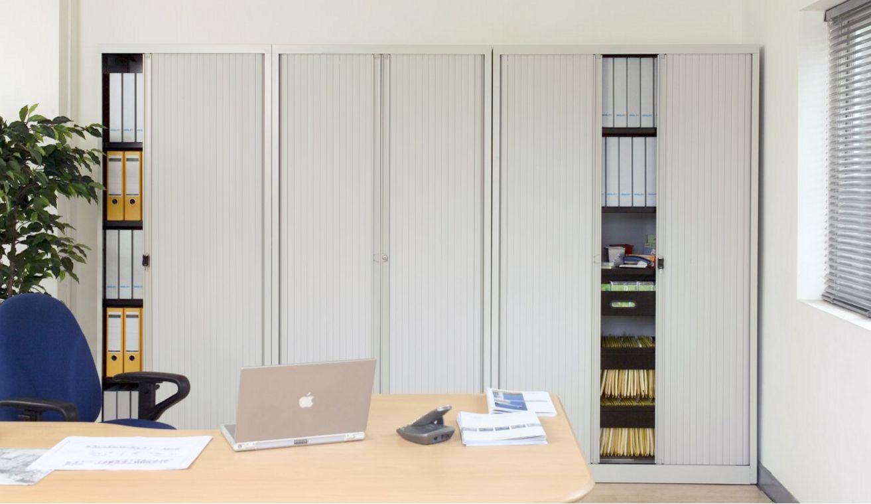 abschließbare Rollladen-Büroschränk komplett einziehbaren Rollläden