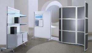 mobile und flexible Raumteiler