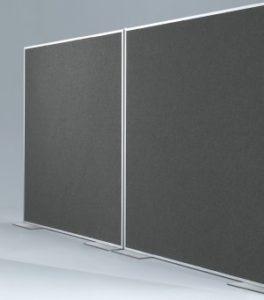 geräuschabsorbierender Büro-Raumteiler