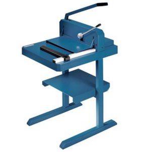 Papierstapel-Schneidemaschine auf Untergestell