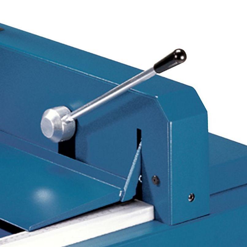 Papierstapelschneidemaschine mit Schnellpressung