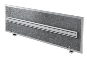geräuschabsorbierende Schreibtisch-Trennwand mit Monitorhalterung