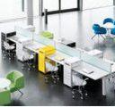 moderner Schreibtisch-Anstellcontainer Stahl sicher abschließbar
