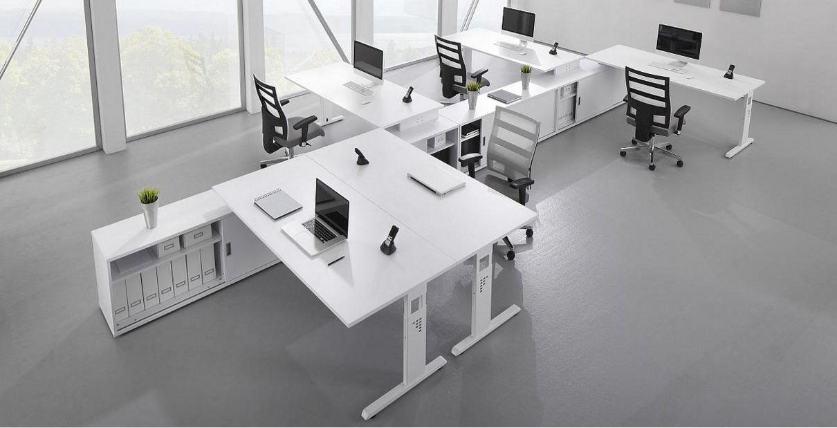 Büro-Teamarbeitsplatz robust preiswert