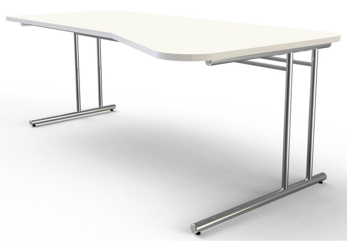 Computer-Schreibtisch mit großer Tischplatte