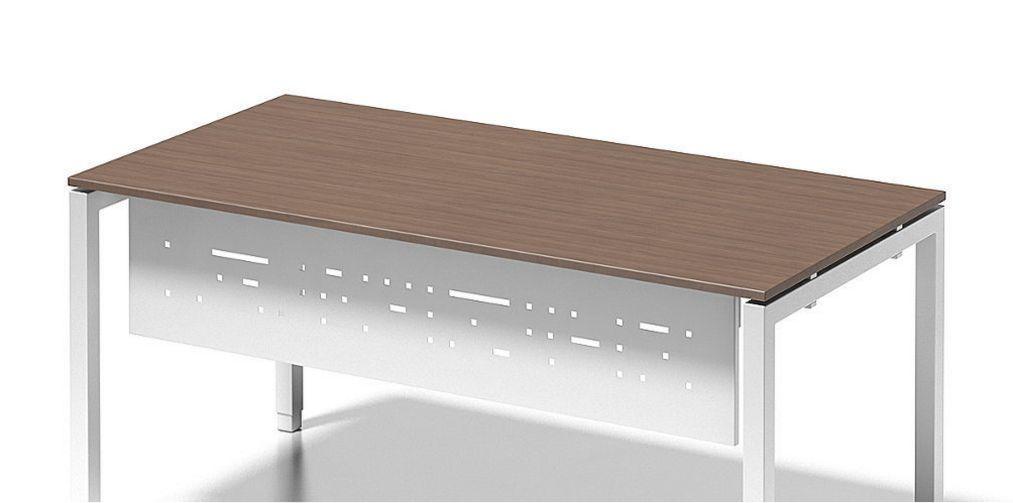 Büro-Schreibtisch mit Knieraumblende