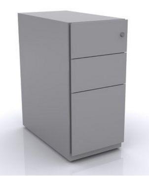 Schreibtisch Rollcontainer Stahl Abschließbar Stilnet Büromöbel