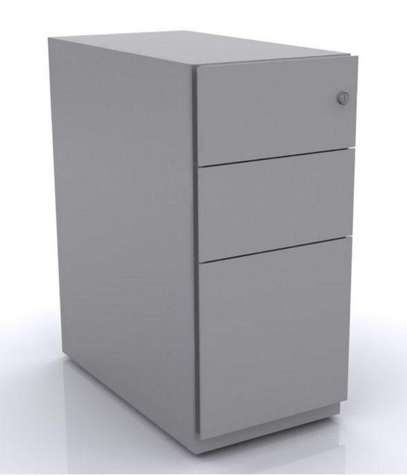 Büro-Rollcontainer Hängeregisterschublade abschließbar