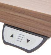 Sitz-Stehschreibtisch stuflenlos höhenverstellbar elektrisch