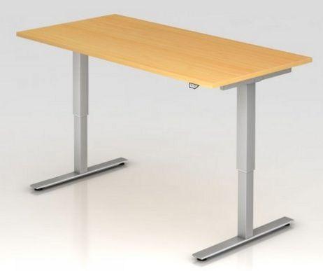 Sitz-Steharbeitstisch elektrisch höhenverstellbare Arbeitshöhe