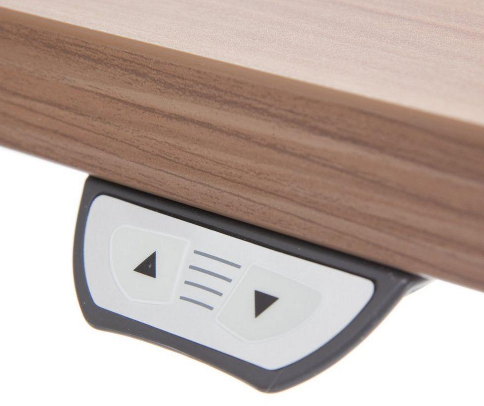 elektrisch höhenverstellbarer Schreibtisch und Steharbeitstisch