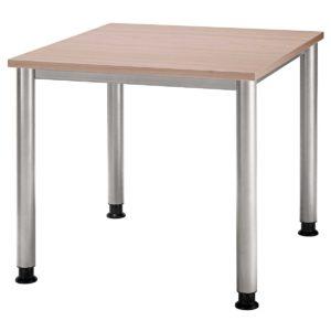 kleiner Schreibtisch mit Nussbaum-Tischplatte