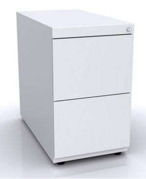 Schreibtisch-Hängeregister-Metallcontainer abschließbar