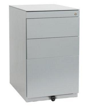 Schreibtisch-Stahlcontainer abschließbar