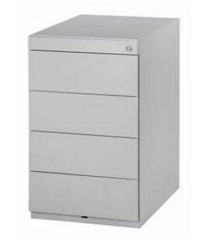 Schreibtisch-Anstellcontainer Stahl abschließbar