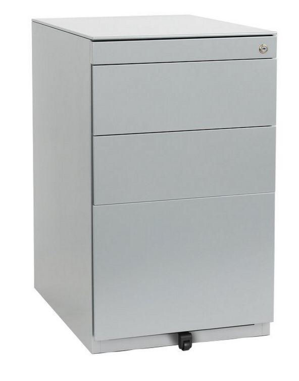 Schreibtisch-Hängeregistercontainer höhenverstellbar abschließbar