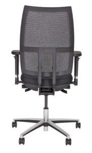 Schreibtischstuhl Rückenlehne mit luftdurchlässigem Netzbezug