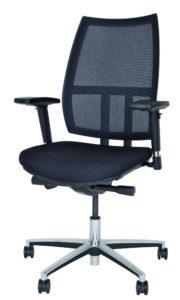 bequemer Schreibtischstuhl mit luftdurchlässiger Rückenlehne