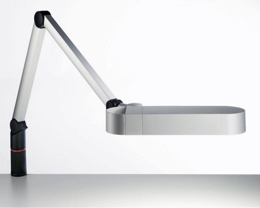 Schreibtischlampe schwenkbar höhenverstellbar stabile Tischmontage