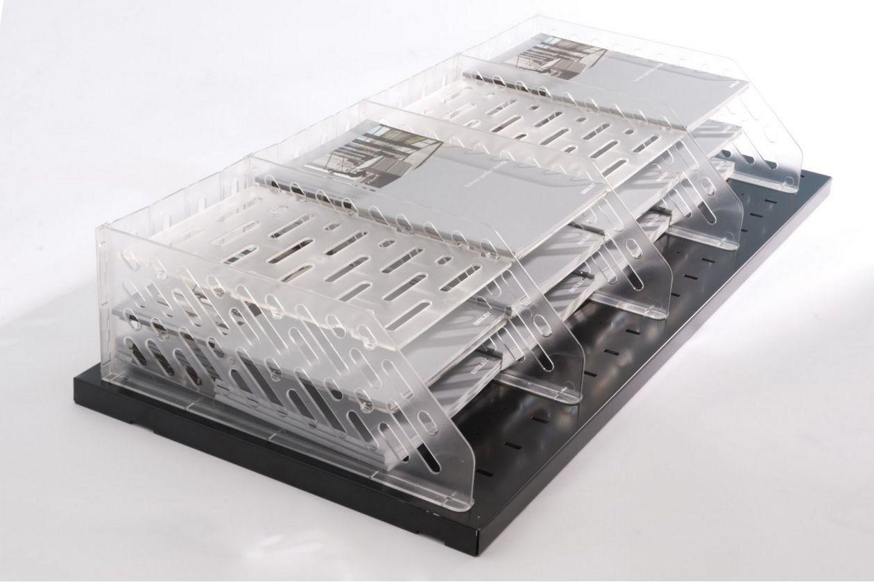 Büro-Stahlschrank abschließbare Drehtüren