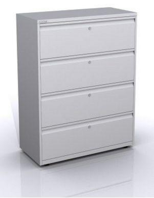 Büro-Stahlschränke Schubladen seperat abschließbar