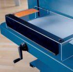 Papierstapelschneidemaschine Messerschutzhaube