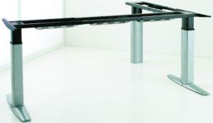 höhenverstellbares und breitenvariables Winkeltischgestell