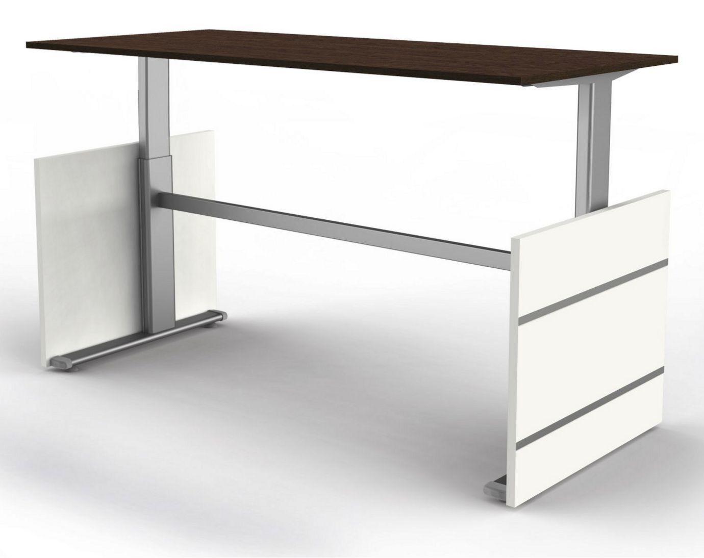 Sitz-Stehschreibtisch elektrisch höhenverstellbar 180 x 80 cm