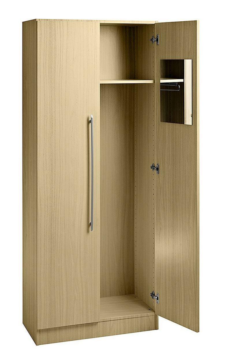 Büro-Garderobenschrank Ahorn-Holzdekor