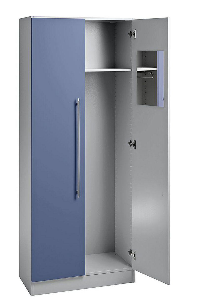 moderner Büro-Garderobenschrank robus-preiswert