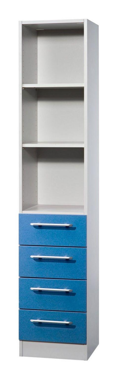 halboffener Büro-Schubladenschrank robust-preiswert