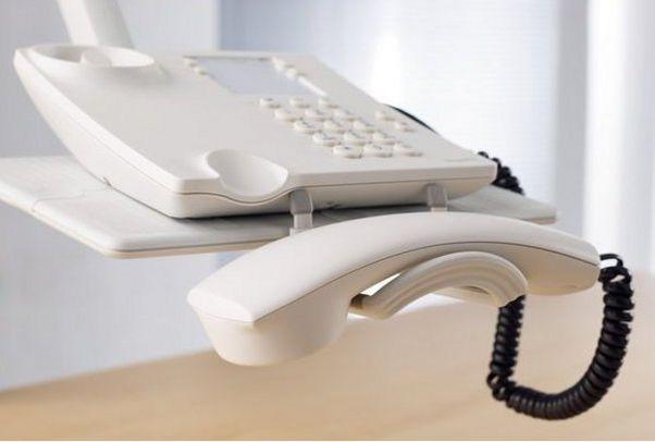 schwenkbarer Telefon-Tragarm