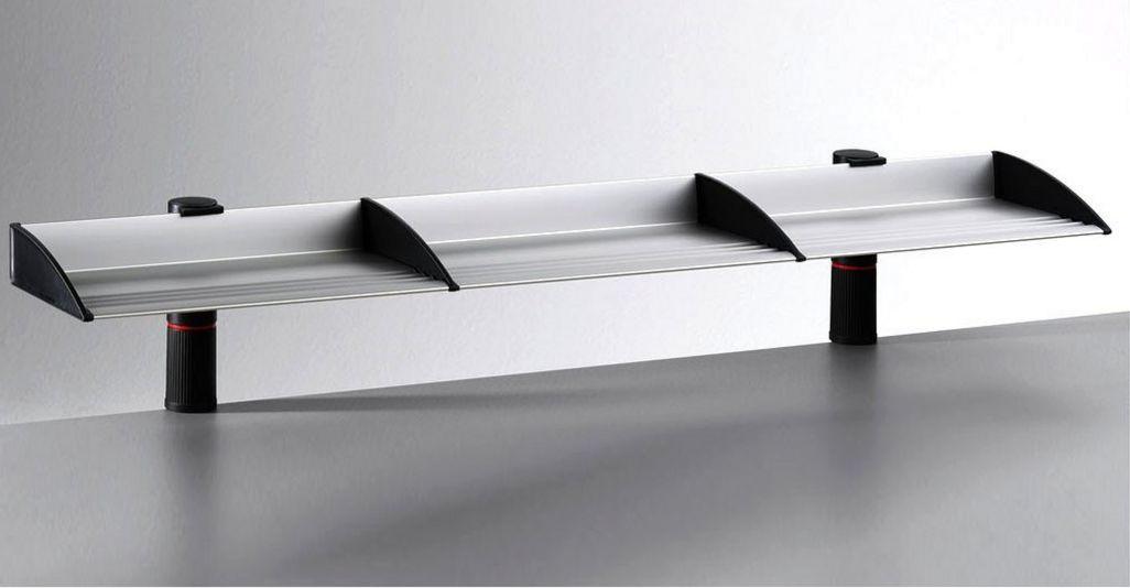 Schreibtischordnung mit Ablagefächern zur stabilen Schreibtischmontage