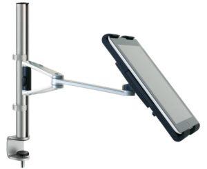 Tischhalterung für Tablets höhenverstellbar und drehbar