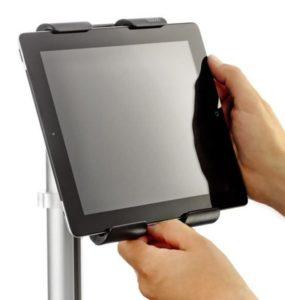 Tablet-Tischhalterung Querformat