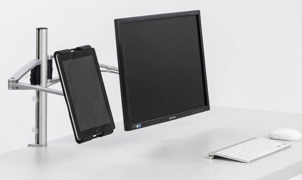 Tischhalterung für Monitor und Tablet