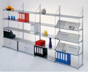 Büro-Metall-Standregal