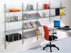 Büro-Stahl-Wandregal